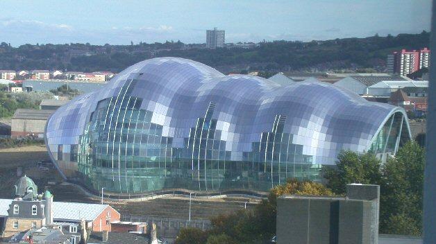 Blobitecture example: Sage Gateshead building