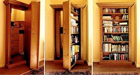 Hidden Passage Doorways | Building Ideas